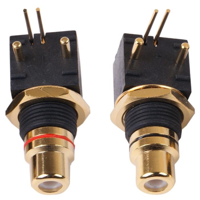 ELECAUDIO ER-106 Inlet RCA pour CI (Pair)