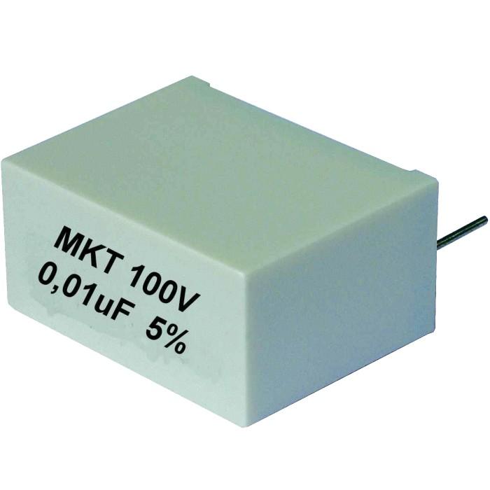 Audyn Cap MKT radial Capacitor 100V. 22.0μ
