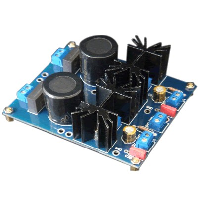 AMC kit Dual regulated power supply +/- 1.5 / +/- 30VDC 3A LM1084