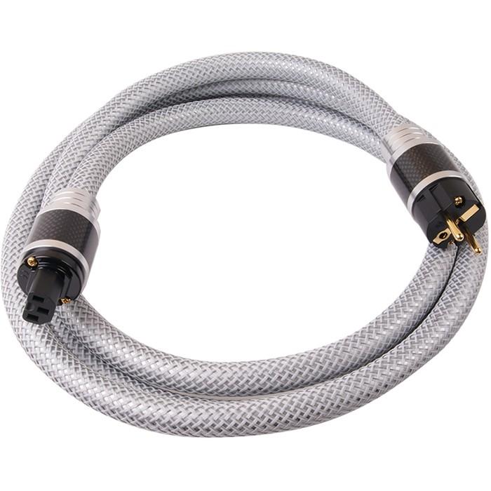 ELECAUDIO CS-361B Câble Secteur OCC Isolation PTFE 3x2.5mm² 3m