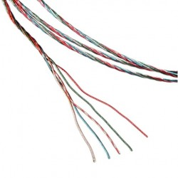 1877PHONO 5-Litz-7 Cable rewiring arm OFHC