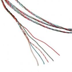 1877 PHONO 5-Litz-7 Cable recâblage bras de lecture OFHC