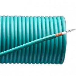 FURUTECH U-X-Ag Câble Coaxial Plaqué Argent 75 ohm Ø8mm
