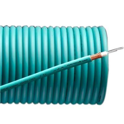 FURUTECH U-X-Ag Câble Coaxial Plaqué Argent 75 ohm Ø 8mm