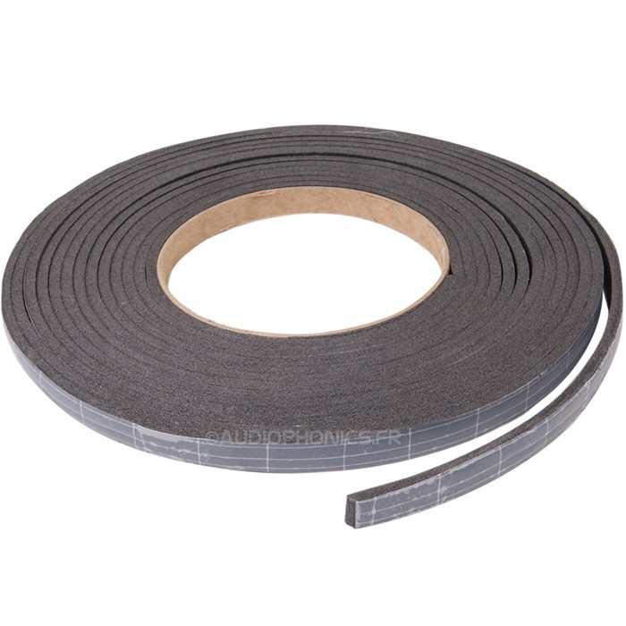 Self-adhesive foam seal 9x3mm 5meters