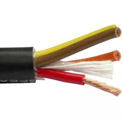 MOGAMI 2921 - Câble HP Cuivre OFC 4x2.5 mm² Ø11.3mm