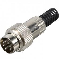 Connecteur DIN Mâle 7 broches 270° avec réducteur
