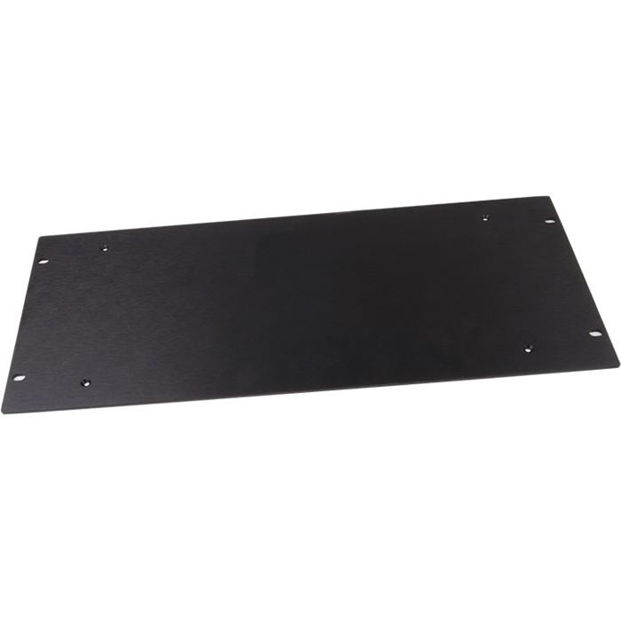 HIFI 2000 Front aluminum 4mm Black for case Slimline 5U