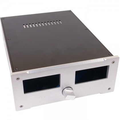 TEK Boîtier aluminium pour vumètre 230x320x90mm