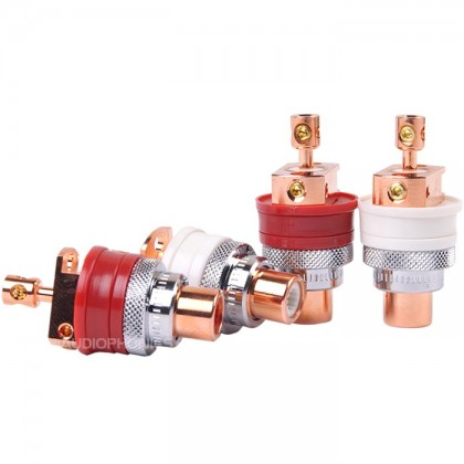 Gaofei GF-RED01 Embases RCA A visser (Set x4)