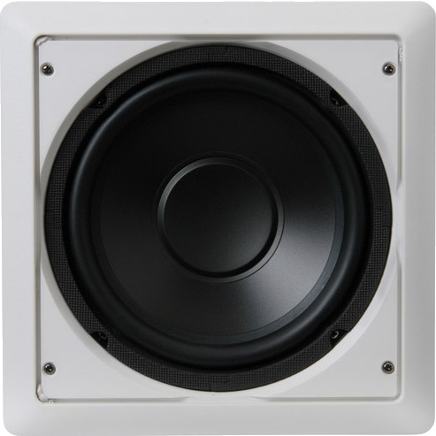 PYLE AUDIO PDIWS10 Ceiling Speaker Driver Subwoofer 180W 8 Ohm 40Hz - 3000Hz Ø 25cm