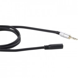 FIIO RC-UX1 Extension Cable Female Jack 3.5mm PCOCC-A 100cm