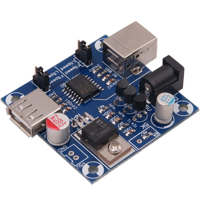 AUDIOPHONICS USB Isolator Module ADUM 4160 Raspberry Pi