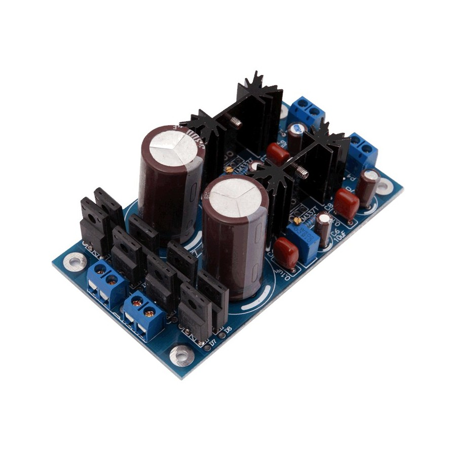 Power Supply Module Dual Dc Lm317 T 12v 15a Audiophonics Want To Present Is Constructed Using The Integrated Circuit D Alimentation Linaire Rgul Double Lt1084