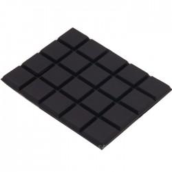 Pieds Polyuréthane 3M 59x47x3mm (Set x20)