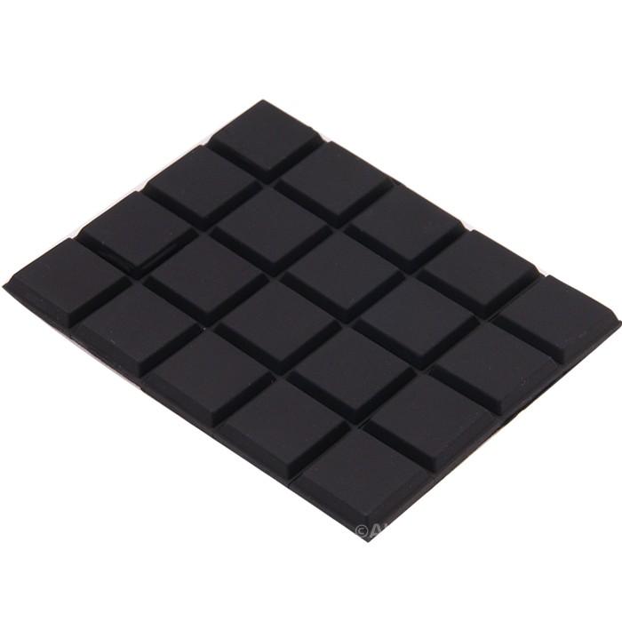Polyurethane Damping Feet 3M 59x47x3mm (Set x20)