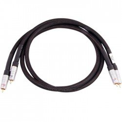 AUDIO-GD RCA-RCA Stereo Modulation Cable Gold Plated (Pair) 1m
