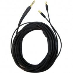 HIFIMAN Câble Canare Jack 6.3mm pour Casque Hifiman HE-400 5m