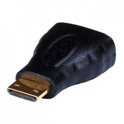Adaptateur mini HDMI Mâle vers HDMI Femelle