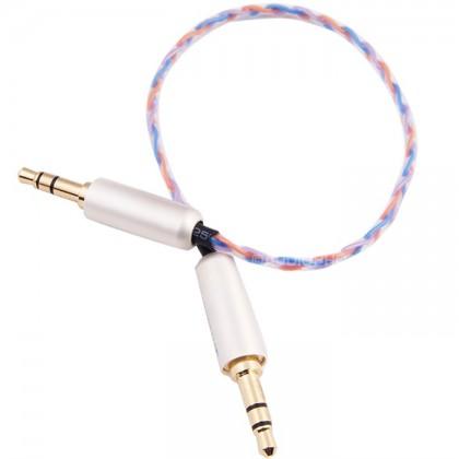Câble de modulation Jack 3.5 mm plaqués Or Cuivre Furukawa 0.2m