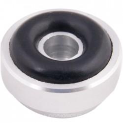 Pied Aluminium 20x10mm Argent (Unité)