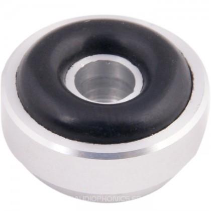 Pied en Aluminium Argent 20mm