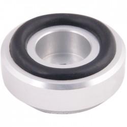 Pied Aluminium 30x13mm Argent (Unité)