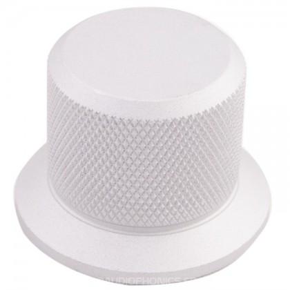 Knob Aluminum D Shaft 37mm Ø6mm Gray