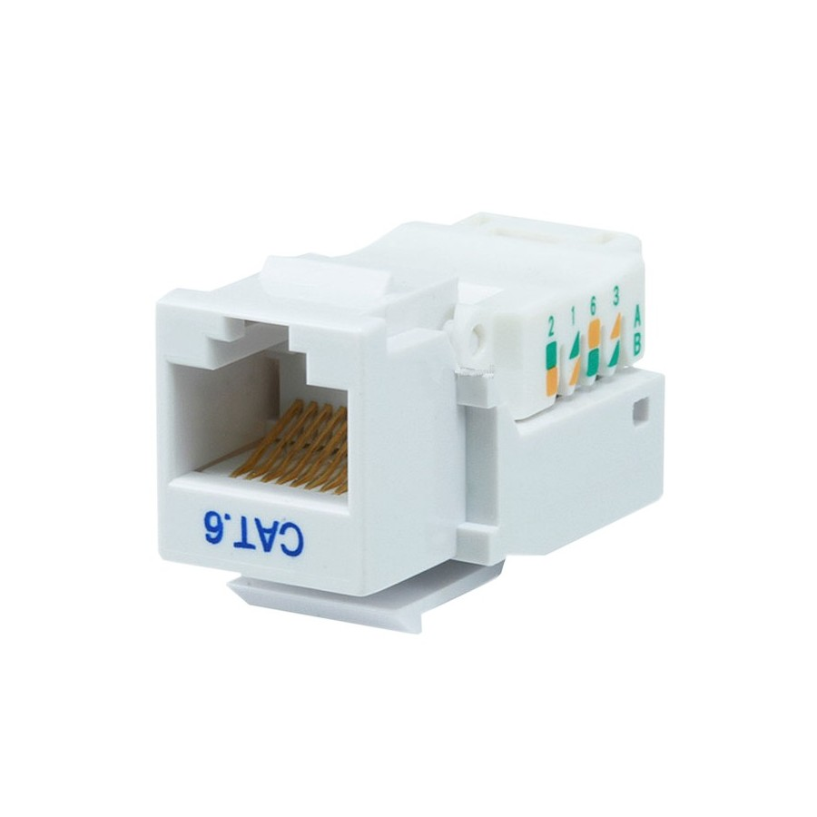 Keystone Rj45 Socket For Ethernet Cable Audiophonics Wiring Guide Embase Pour Cble