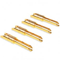 Viablue T6s Banana Plug Gold Plated (Set x4)