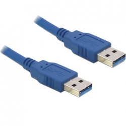 Delock USB 3.0 USB-A Male / USB-A Male Cable 1.5m