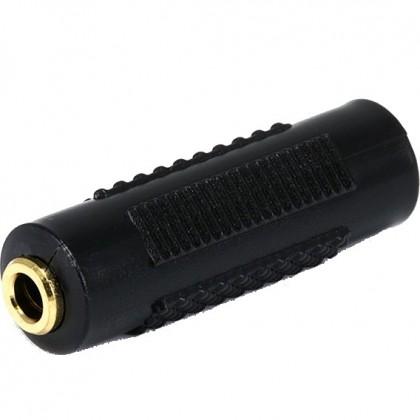 Adaptateur 2 x Jack 3.5mm femelle stéréo contacts or