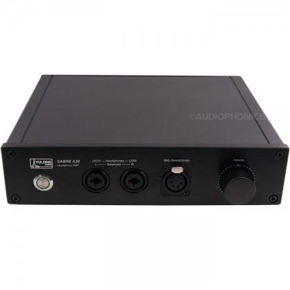Yulong A28 Amplificateur Casque symétrique Class A Black