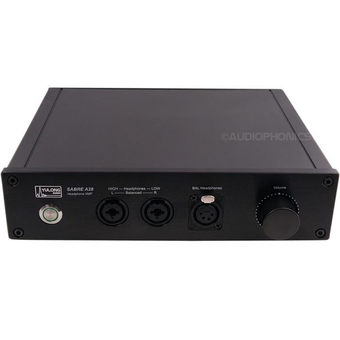 Yulong A28 Balanced Headphone Amplifier Class A Black