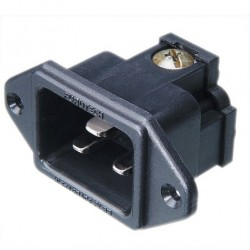 FURUTECH FI-33 (R) Embase IEC plaqué Rhodium C20