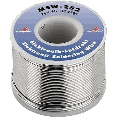 Soldering tin - Monacor unleaded 250g