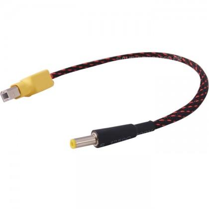 Câble adaptateur USB-B pour alimentation Jack 5.5/2.1mm Mâle