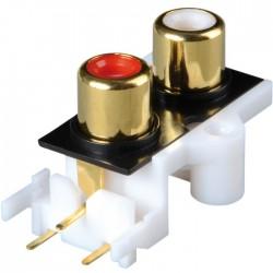 Embase CBP-2 RCA châssis pour circuits imprimés