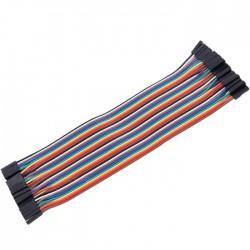 Jumpers flexible test plate female / female connectors (Set x40)