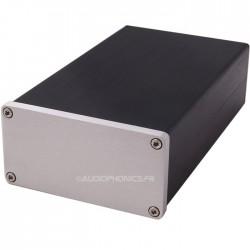 Boîtier DIY aluminium Noir pour amplificateur 92x158x47mm