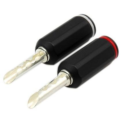 WM-Audio BS-211S Fiches Bananes BFA (la paire) Ø 5.0mm