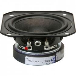 PEERLESS VIFA TC7FD00-04 Speaker Driver Full Range Paper 20W 4 Ohm 82dB 130Hz - 20kHz Ø 6cm