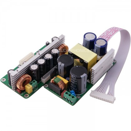 Kit Amplifier Class D Stereo CxD2160 + SMPS320QR