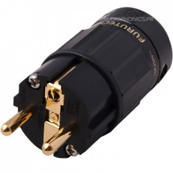 FURUTECH FI-E38 (G) Schuko Pure Copper Gold-Plated Copper Connector Ø17.5mm