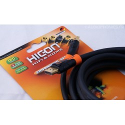 HICON Ergonomic Câble HDMI High Speed 3.0m