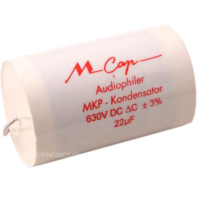 MUNDORF MCAP Capacitor 630V 0.47µF