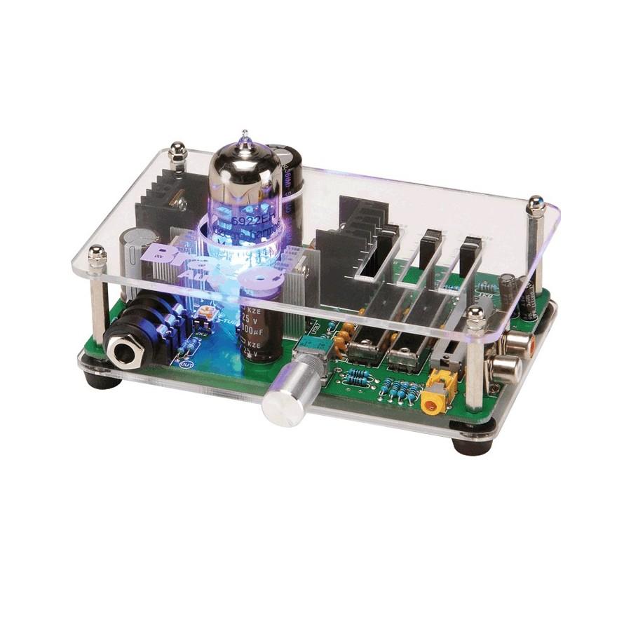 bravo audio v3 amplificateur casque classe a 6922 hybride audiophonics. Black Bedroom Furniture Sets. Home Design Ideas