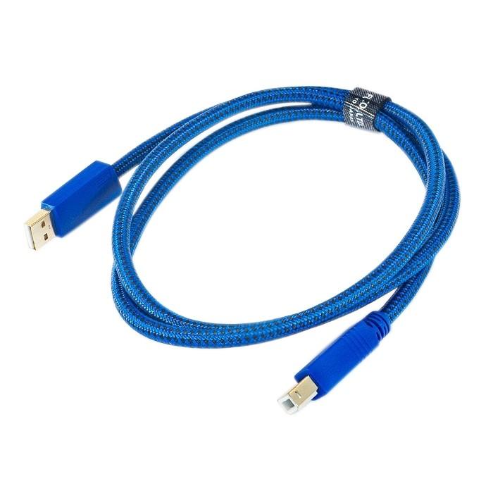FURUTECH GT2 USB-A Cable Male / USB-B Male 2.0 Gold 24k 5m