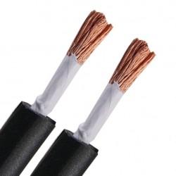 ELECAUDIO HP-25OCC Câble HP OCC / OFC Isolé PTFE 2x4.8mm² Ø7.5mm