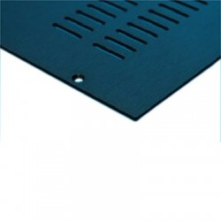 HIFI 2000 Capot Aluminium pour Boîtier GALAXY GX147-187 (Black)